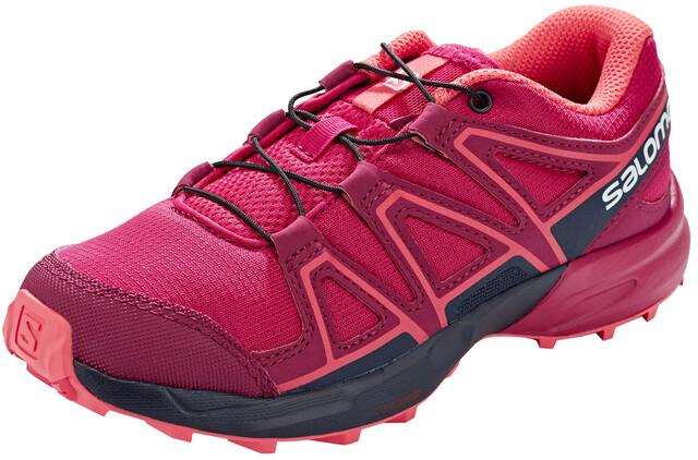 Salomon Speedcross Shoes Kinder cerise.navy blazerdubarry
